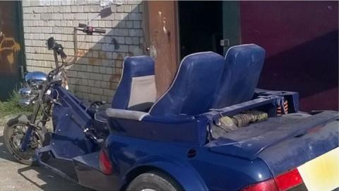 То ли «мотобиль», то ли «автобайк» - в Саратове появился гибрид мотоцикла и кабриолета