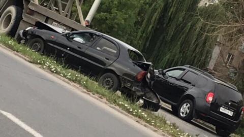 В ДТП в Энгельсе пострадал водитель Chevrolet