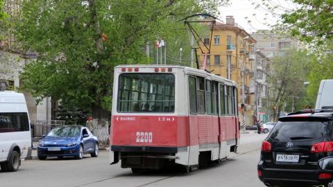 Из-за сломавшегося вагона не ходят трамваи двух маршрутов