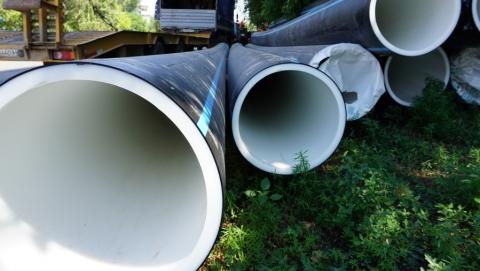 «КВС» ведет работы на двух участках городского водопровода
