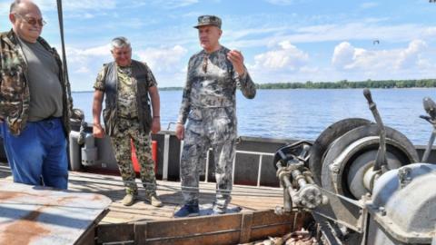 Видео с субботней рыбалки саратовского губернатора опубликовано в Instagram