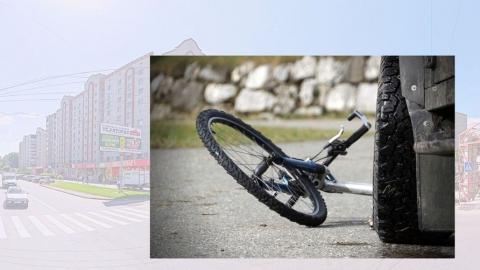 В Энгельсе «Гранта» сбила велосипедиста