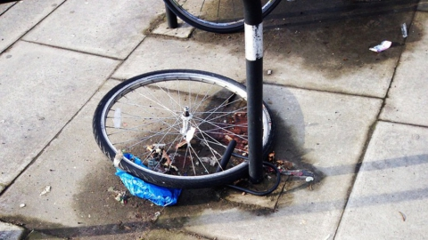 Полицейские рассказали, как уберечь велосипед от кражи