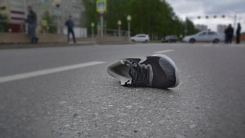 Пешеход погиб в столкновении трех автомобилей