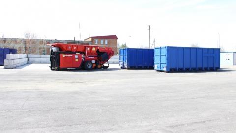 Почти шесть футбольных полей мусора вывезли с одной из районных МПС за полгода