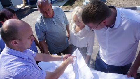 В посёлке Юриш завершилось строительство новой насосной станции