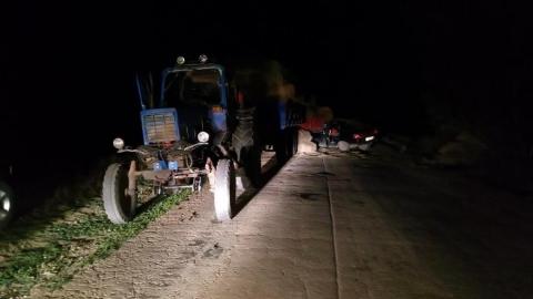 Подросток на тракторе устроил ДТП со смертельным исходом