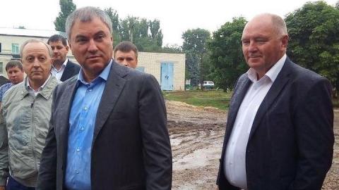 Володин поставил задачу ускорить строительство бассейна в Романовке