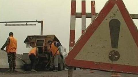 Движение по мосту на федеральной трассе ограничат в понедельник