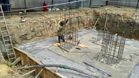 В поселке Елшанка строится новая современная котельная