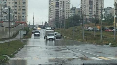 Ливень затопил несколько низинных мест в Саратове