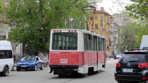 В Саратове остановились сразу несколько трамвайных маршрутов