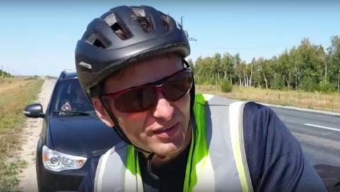 Пермский велопутешественник рассказал о саратовских дорогах