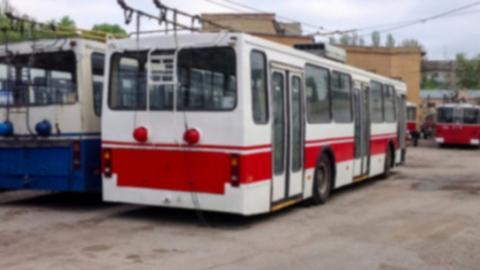 Четыре троллейбусных маршрута «застряли» на 3-й Дачной