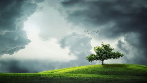 Ливни, ураганы и град сменятся потеплением