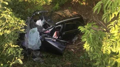 Тела погибших из разбитой утром Kia разбросало по дороге