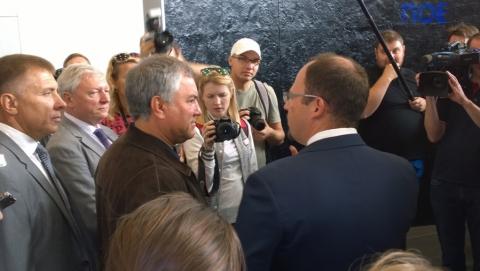"""Вячеслав Володин: """"Качество нового аэропорта должны оценивать люди"""""""
