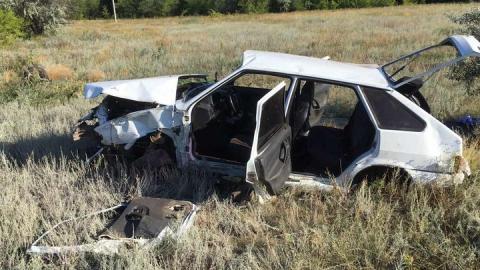 Сегодня утром один мужчина погиб, второй покалечился в аварии на сельской дороге