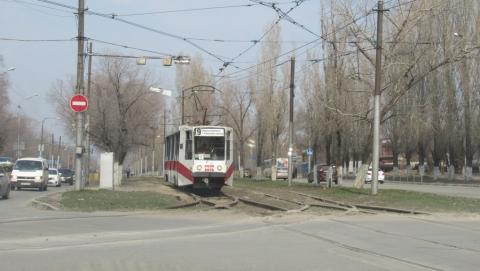 Упавшая на рельсы ветка парализовала два трамвайных маршрута