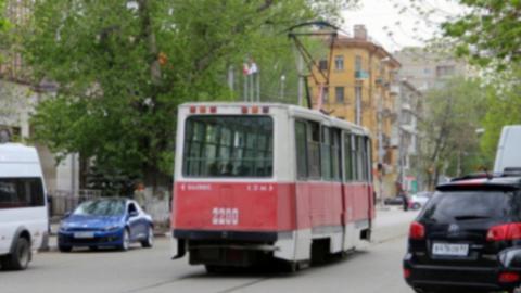 Трамвай маршрута №7 прервал движение