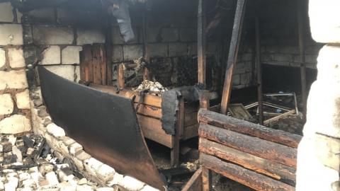 Восьмилетний мальчик погиб в горящем сарае