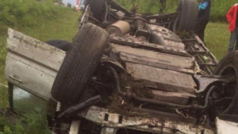 Две машины за сутки улетели в кюветы в Ртищевском районе