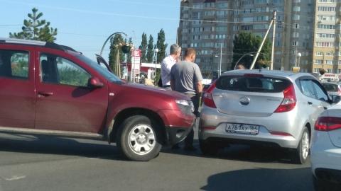 На Усть-Курдюмском шоссе произошло ДТП