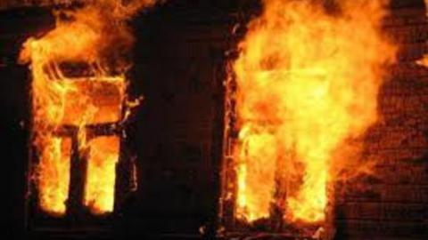 Ночью горел частный дом