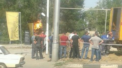 Спасатели раскрыли подробности вчерашнего возгорания газораспределительного узла