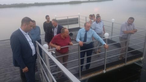 Радаев отчитал Бусаргина, Чурикова и Бабошкина на пристани в Сабуровке