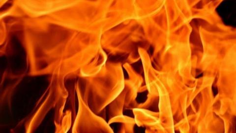 Мужчина едва не сгорел при пожаре в Балашове