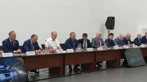 """Вячеслав Володин наметил перспективы развития аэропорта """"Гагарин"""""""
