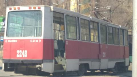 В Саратове больше часа не ходили трамваи пяти маршрутов
