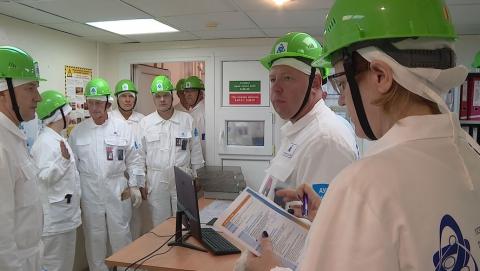 Международная страховая инспекция подтвердила высокий уровень безопасности БалАЭС