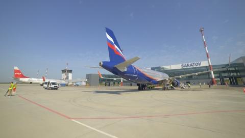 В Саратове впервые приземлились Airbus и Boeing