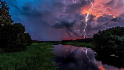 Завтра в Саратовской области прогнозируется сильная гроза