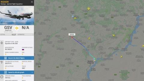 Самолет авиаотряда «Россия» вылетел из Саратова