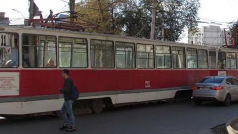 Весь электротранспорт из Ленинского района не ходит в центр Саратова