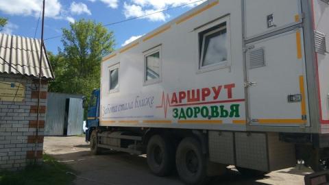 «Поезд здоровья» посетил 17 районов Саратовской области