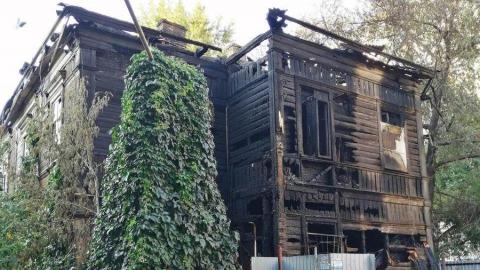 В поджоге дома на Вольской подозревают родственника погибших на пожаре людей