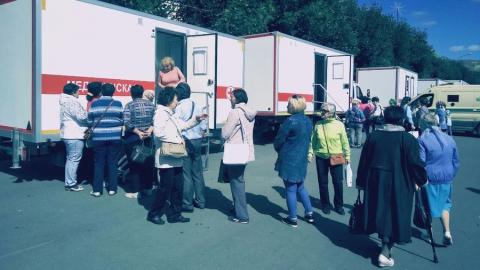 В Вольске прошла массовая профилактическая «ДиспансериЗА!ция – залог здоровья и долголетия!»