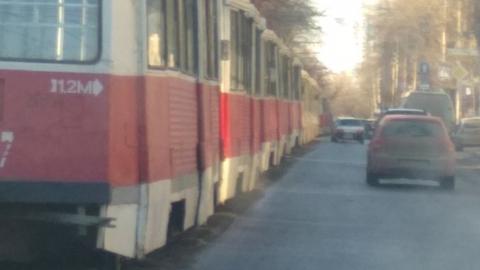 Три трамвайных маршрута остановлены, один укорочен
