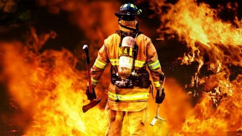 Мужчина госпитализирован после пожара в Балакове