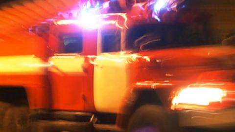 Пожар в Марксе, на котором погибла женщина, начался из-за короткого замыкания