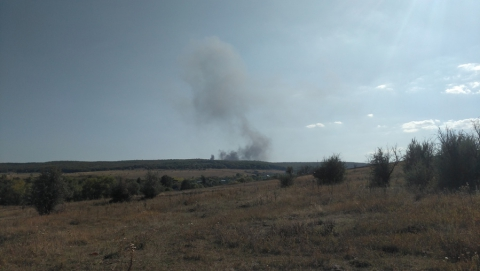 Появились первые фото разбившегося рядом с Саратовом вертолета