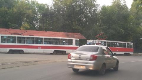 Авария в центре Саратова опять перекроила движение трамваев в Саратове