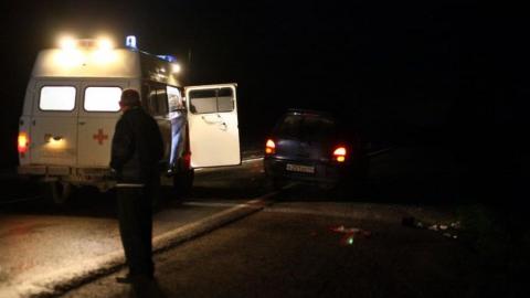 На ночной трассе машина насмерть сбила пешехода, водитель скрылся