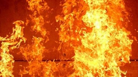 Ночью в Саратове горело кафе Hugo