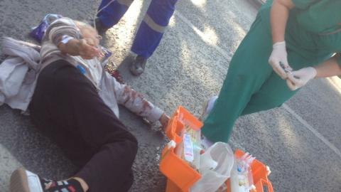 Сегодня под машину попала пожилая жительница Саратова