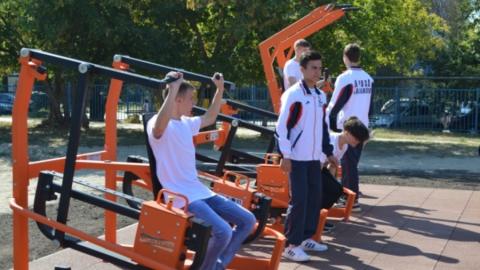«Спорт – норма жизни»: в Балакове открылась новая спортивная площадка